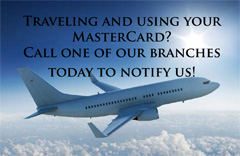 Contact us when you travel